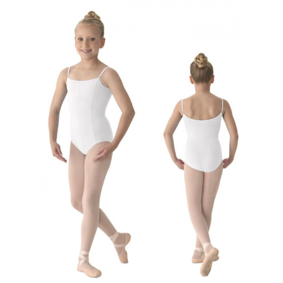 9def61428 Seamed Camisole Leotard M207CD Mirella Girl s Seamed Camisole Leotard