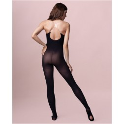Capezio Adult Ultra Soft Body Tight With Clear Straps