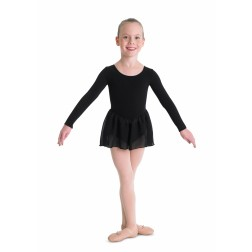 Bloch Petal Long Sleeve Skirted Leotard