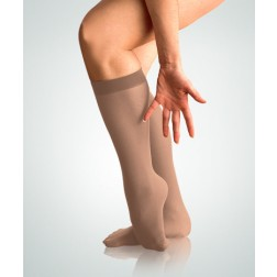 "Body Wrappers TotalSTRETCH Adult ""Foot Wrappers"" Knee Tights"