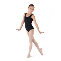 Bloch Girls Gathered Front/Back Tank Leotard