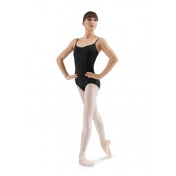 Bloch Pin Tuck Front Cami Leotard