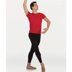 Body Wrappers Men's Professional 3/4 Crop Ankle Dance Leggings