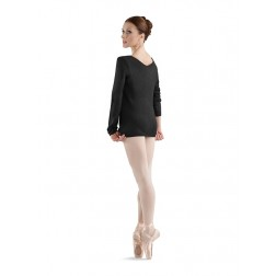 Bloch V Neck Long Sleeve Top