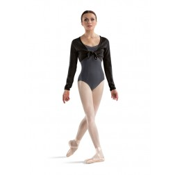Bloch Crop Tie Front Top